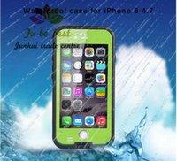 Redpepper para iPhone 6 4.7 pulgadas Funda impermeable 6.6ft Funda resistente al impacto a prueba de golpes a prueba de agua bajo el agua a prueba de nieve Impermeable DHL