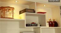 Faretti a soffitto a LED 3W / 5W. Piccoli faretti in alluminio, applique per finestre, lucernari per finestre, lampada da parete incassata