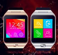 Smartwatch mais recente dz09 bluetooth smart watch com cartão sim para a apple samsung ios android telefone celular 1.56 polegada 20 pcs livre dhl