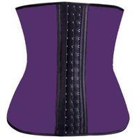 Wholesale-2016 Deportiva sport latex waist cincher trainer hot body shaper fast weight loss girdle slimming belt waist training corsets