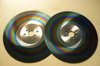 Discloni da taglio circolari in acciaio ad alta velocità da 11 pollici in acciaio ad alta velocità 300 * 1.6 | 300 * 2.0 mm HSS-M42 Taglio Acciaio inossidabile Strumenti di taglierina Arcobaleno