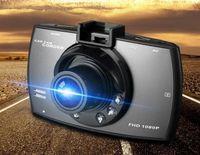 """2017 heißer verkauf NEUE HD Auto DVR Recorder Auto Videokamera Camcorder Mit 2,4 """"lcd-bildschirm G-sensor Erkennung biens50PCS DHL freies haar"""
