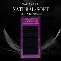 Wholesale-nagaraku 10ケースセット、高品質のミックまつげの延長、個々のまつげ、自然なまつげ、偽の偽まつげ