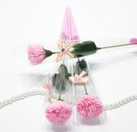 Artigos de presente do dia das mães de aniversário do Natal Dia Sabão Handmade casamento dos Namorados 300PCS New criativa flor do cravo sabão de papel Pétala