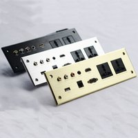 USB-кабель питания дизайн Muti USB/DATA / USA настенная розетка с кабелем из алюминиевого сплава розетка