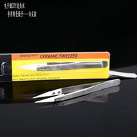 Ceramic tweezer Wrapping Coiler Wire Wick Tool heat antistat...