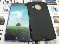 Para Sony L1 XA1 XZ XZ premium XA1 de ultra XZS 2017 Microsoft Lumia 950 XL mate ultra fina elegante del gel de TPU caja del teléfono de Escombros piel de la contraportada