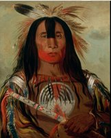 George Catlin 1832 - Chief Native American, Free Shipping, Pur...
