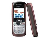 Original Nokia 2610 Engelska Ryska Arabiska Tangentbord 2G GSM 900 / 1800MHz Dual Band Multi-Språk Renoverad Mobiltelefon