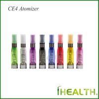 CE4 Atomizador 1.6ml E cigarrillo CE4 Clearomizer eGo hilo para baterías eGo 8 colores disponibles Envío gratis