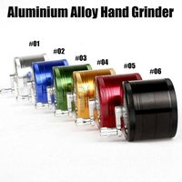 Aluminium Alloy Handle Grinder 4 Layers 63mm Tobacco Herb Ci...