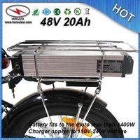haute capacité 1000W vélo électrique 48V 20Ah Batterie au lithium construit en 13S 30A BMS 18650 cellule + Chargeur LIVRAISON GRATUITE