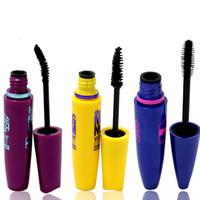 Vendita calda 3 colori Mascara di marca waterproof ciglia volume express Makeup Mascara colossale per gli occhi Make up Cosmetic