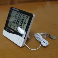 Digital LCD Thermometer Hygrometer Electronic Temperature Hu...