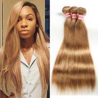 8A MICK RASKILLIANS Прямые волосы Пучки цвета 27 #, 99J Необработанные человеческие волосы плетены Малайзийские перуанские индийские девственные волосы прямые в наличии