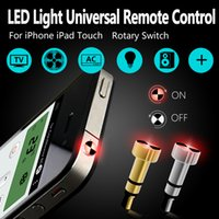 Luz inteligente i2L IR Control remoto inteligente de 3,5 mm Llave inteligente para iPhone 5S SE 6 6S iPad Mini aire acondicionado / TV / AC / DVD