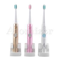 Lansung A39Plus Cepillo de dientes eléctrico de carga inalámbrica Cepillo de dientes eléctrico giratorio ultrasónico de Sonic Cepillo de dientes recargable para adultos 0610002
