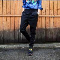 Freizeit Han Ausgabe der neuen Mode Persönlichkeit Frühling Füße Füße Hosen haroun Hosen große Yards / custom