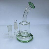 """I più votati in USA filtro Bong 5,7 """"tubo di acqua alta bong in vetro 14,4 millimetri olio per unghie Rigs dispositivo di fumare alla moda narghilè"""