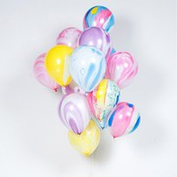 Black Agate Balloons Inflatable Balls for Holiday Birthday P...