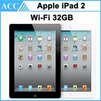 改装されたオリジナルのアップルiPad 2 32GB Wifi 9.7インチiOS A5保証は黒と白の無料のDHLを含んでいます
