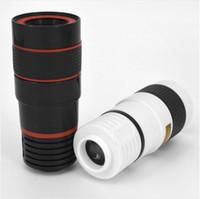 Universal Hot Vendas 8x de zoom telescópio telefoto lente da câmera para Samsung S6 Nota 5 Mobile Phone gratuito DHL