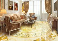 3 d wallpaper for walls Continental pattern simple marble murals PVC wallpaper for floor
