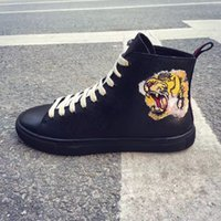 Famous brand designer men womens Tide Animal high top shoes ...