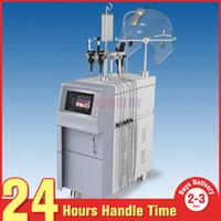 Profissional Pro 5in1 Hypeyperbaric Oxygen RF Ultrasonic BIO Photon Máquina de Rejuvenescimento Da Pele Para A Pele Levantamento Acne Remoção