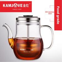 Frete grátis Kamjove laranja Citrus Puer pote de chá xícara de chá copo de chá de vidro resistente ao calor elegante xícara de café