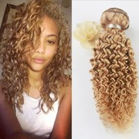 Different Style 8A Grade Afro Kinky Curly Hair Pure Color 27...