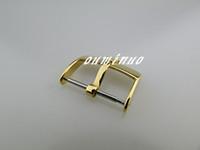 16 mm 18 mm 20 mm Top-Grade or Bracelet Bracelet en acier inoxydable Déploiements Boucle déployante Pour Rolex Montre