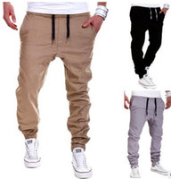 Joggers Pants 2016 New Men Casual Sports Pants Hip- hop Fashi...