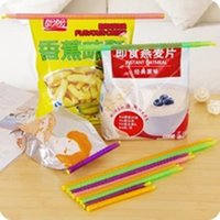 Magic Bag Sealer Stick Sealing Rods Great Helper Food Storag...