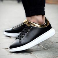 Fashion Design Cheap PU Matériel Chaussures Vente en gros Outdoor Casual Shoes