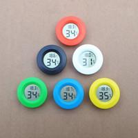 termómetro higrómetro de cigarro ld pequeño portátil digital Termómetro centigrado de Digitaces Medidor de higrómetro Fahrenheit