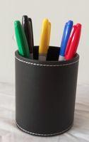 Darmowa Wysyłka Kolor Pen Przewidywanie / Kolor Mecz - Skórzana okrągły uchwyt na pióro, magiczne sztuczki, mentalizm / magiczne rekwizyty / magiczny produkt