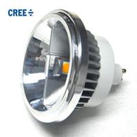 AR111 램프 LED 스포트 라이트 크리 칩 GU10 LED 전구 AC 85V-265V 따뜻한 화이트 멋진 화이트 15W 램프