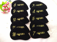 2016 wholesale High Quality Nylon Golf Headcover 10pcs Set G...