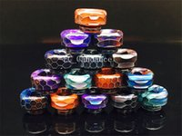 New Coming Snake skin pattern TFV8 drip tips epoxy resin dri...