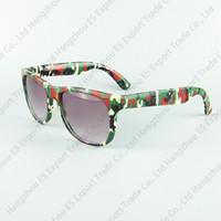 Crianças Óculos De Sol Viajante Quadro Sun Eyewear Impressão Camuflagem CS Jogar Óculos de Armação Legal Moda UV400 Proteção 6 Cores