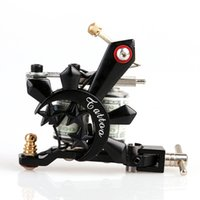 New Design Handmade Black Crystal Shader Tattoo Gun 10 Wrap ...