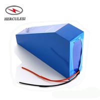 72 Volt Li-Ion Akku 72V 18AH Lithium-Batterie-Pack Dreieck verwendet Samsung 18650 Zelle für Elektro-Fahrrad