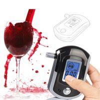 AT-6000 Alkol Test Cihazı Yüksek Hassasiyetli Dijital Taşınabilir Şarap Alkol Test Cihazı Vücut Yüksek Kalite Ücretsiz Kargo