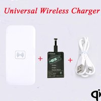 Qi Wireless Charging Pad+ Universal Wireless Charger receive...