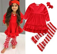 Kids Clothing Big Girls Two Piece Sets Shirt and Pants Long ...