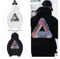 Desinger Mens Palace Skateboards Hoodie Male colorful Triang...