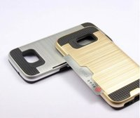 Pour LG G5 K7 hommage 5 ls675 M1 K10 LS770 K4 K5 K8 stylet 2 LS775 Armure Hybrid Brush Fente Carte