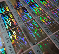 10000 pezzi / set! etichetta adesiva personalizzata per etichette adesive con ologramma, codice univoco su ogni adesivo! Design GRATUITO