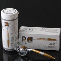 192 Pins Titanium Nadeln ZGTS Derma Roller Skin Roller für Cellulite Anti Aging Age Poren Verfeinern Sie Freies durch DHL